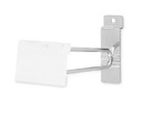 AMKO Displays SW/SNH6 Slatwall Scanner Hooks, 6