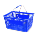 AMKO Displays TZM/BL Plastic Basket