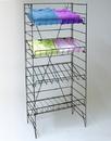AMKO Displays WSR4 Shelf Rack, 55