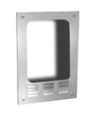 ASI 0119-93 Semi-Recessing Mounting Box For Turbo-Dri For Adaag & Caldag Compliance – 93 Satin Stainless Steel