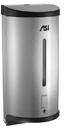 ASI 0362 Automatic Liquid Soap And Gel Hand Sanitizer Dispenser - 27 Oz. - Stainless Steel - Surface Or Stand Mounted