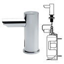 ASI 0391-6-1AC Ez-Fill - Stand-Alone Liquid Soap Dispenser With I Liter Bottle (Individual)<br>- Ac Plug In Version - 6 Pack Sku³ (Comes With Remote Control)
