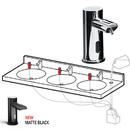 ASI 0393 EZ Fill Top Fill, MULTI-FEED FOAM Soap Dispenser Head Matte Black