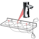 ASI 0393-6-1AC Ez Fill - Top Fill, Multi-Feed Foam Soap Dispenser Head²<br>- Ac Plug In Version - 6 Pack Sku³ (Comes With Remote Control)