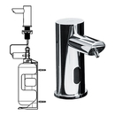 ASI 0394-6-1A Ez-Fill -  Stand-Alone Foam Soap Dispenser With I Liter Bottle (Individual)<br>- Battery Operated (6 D Cell - Not Included) - 6 Pack Sku³ (Comes With Remote Control)
