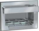 ASI 0398 Soap Dish with Bar - Recessed - Dry Wall - Stainless Steel