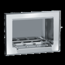 ASI 0400 Soap Dish – Recessed – Dry Wall – Stainless Steel