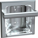 ASI 0410-Z Zamac Bathroom Accessories - Recessed Soap Dish With Bar