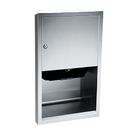 ASI 045210AC-6 Automatic Roll Paper Towel Dispenser, 110-240V / Ac – Semi Recessed