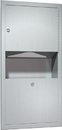 ASI 0462-AD Paper Towel Dispenser And Waste Receptacle