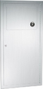 ASI 04733 Waste Receptacle, Recessed, 3 gallons