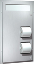 ASI 0484-HC Dual Access Seat Cover And Toilet Tissue Dispenser