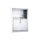 ASI 0548 Stainless Steel Sharps Disposal Cabinet – Recessed (Container Not Included)