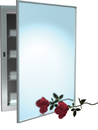 ASI 0952 Recessed Stainless Steel Medicine Cabinet