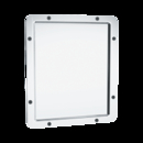 ASI 104-14 Framed Mirror – 20 Ga. #8 Mirror Polished Stainless Steel, Front Mount With Wall Anchor, 10-1/16