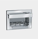 ASI 0399 Soap Dish with Bar – Recessed – Wet Wall – Stainless Steel