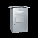 ASI 4004 Under Vanity Paper Towel Dispenser And Waste Receptacle