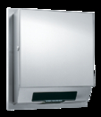 ASI 68523A-4 Simplicity Collection Automatic Roll Towel Dispenser, Battery Operated – Semi-Recessed