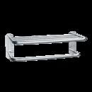 ASI 7311-24B Towel Shelf w/ Drying Rod - Bright Stainless Steel - 24