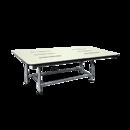 ASI 8209 Four Leg, Rectangular Fold-Up Shower Seat, Phenolic, Ada