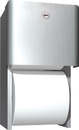 ASI 9030 Surface Mounted Dual Roll Toilet Tissue Dispenser, Twin Roll