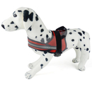 GOGO Mesh Reflective Safety Dog Harness Vest, Adjustable Polyester Harnesses