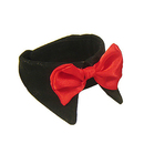 TopTie Formal Pets Bowtie, Dog Cat Pets Adjustable Bow Tie and Collar, 5 Sizes