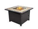 PrimeGlo GFT-51030A Square Tile Fire Pit in Bronze