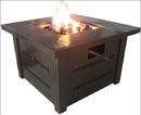 PrimeGlo GS-F-PC Fire pit with Lid - Hammered Bronze finish