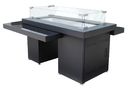 PrimeGlo GSF-RFP Two Tiered Glass Top Fire Pit