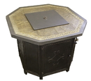 PrimeGlo HF-OCT Octagon Faux Stone Fire Pit