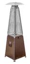 PrimeGlo HLDS032-GTTHG Tabletop Quartz Glass Tube Heater- Hammered Bronze Finish