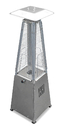 PrimeGlo HLDS032-GTTSS Tabletop Quartz Glass Tube Heater- Stainless Steel Finish