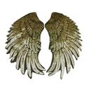 Aspire Big Wings With Sequin For Sweater, Size For Adult Or Child One Pair