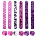 GOGO 24 Pcs Animal Silicone Slap Bracelets Soft Wristbands Party Favors Rewards Carnival Prize