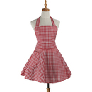 Aspire Cute Apron Maid Style Plaid Skirt Aprons Ladies kitchen Cooking Apron Party Accessories