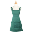 Aspire Bib Apron With 5 Pockets Kitchen Cooking Chef Apron Cafe Working Apron Adjustable Strap