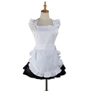 Aspire Cooking Kitchen Apron Restaurant Ruffled Apron Waitress Apron Cosplay Maid Costume Accessory