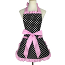Aspire Aprons with Pockets Adjustable Neck & Waist Ties Skirt Dress Design Kitchen Apron