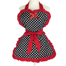 Aspire Cute Apron Heart Shaped Maid Aprons Waterproof Kitchen Aprons For Women
