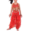 Wholesale BellyLady Kid Children Belly Dance Costume, Harem Pants & Halter Top Sets