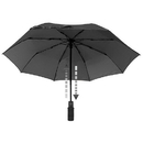 EuroSCHIRM 3F329120 Light Trek Automatic Flashlite Umbrella, Black