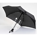 EuroSCHIRM 1A28-OBL Dainty Automatic Umbrella, Black