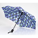 EuroSCHIRM 1A28-CWS1 Dainty Automatic Umbrella, Navy/Olive/Royal Blue/Ice Blue