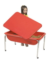 Children's Factory 1135-24 Large Sensory Table and Lid Set - 24