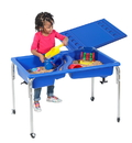 Children's Factory 1138-18 Neptune Table and Lid Set - 18