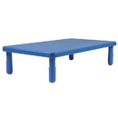 Angeles AB705PB12 Value Rectangle Table - Royal Blue with 12