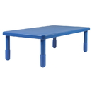 Angeles AB705PB16 Value Rectangle Table - Royal Blue with 16