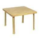 Angeles AB7800L22 Square NaturalWood Table Top with 22