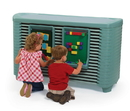 Angeles AFB5732GN SpaceLine Activity Center with Spaceline Cots - Teal Green